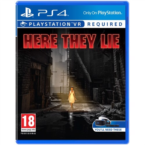 Image of Here They Lie VR (PSVR) (Nordic) PS4 (0711719872351)