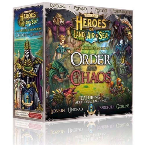 Image of Spil Heroes of Land, Air & Sea - Order and Chaos Expansion (GGtemp02) (0728028444803)