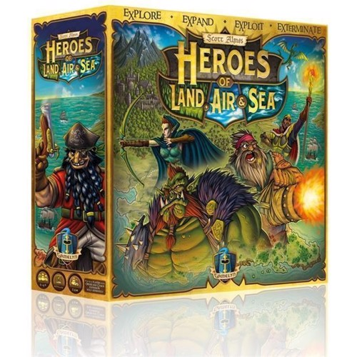 Image of Spil, Heroes of Land, Air & Sea (GG801) (0728028444797)