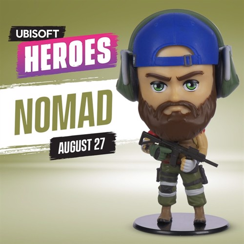 Image of Heroes Collection - Tom Clancy's Ghost Recon Nomad Chibi Figure (3307216143109)