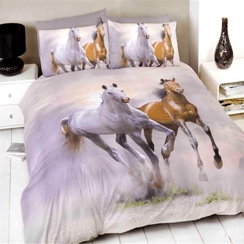Image of Heste Sengetøj Galopperende Heste (5027491848701)