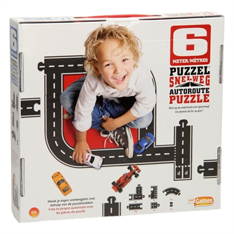 Image of Highway and Railway Puzzle, 6 mtr (8718866200275)