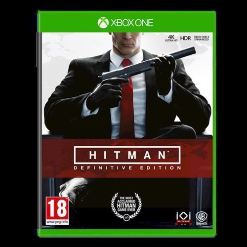 Image of Hitman Definitive Edition - PS4 (5051895411346)