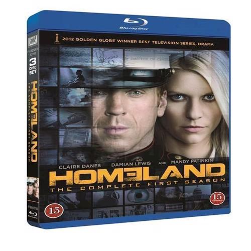 Image of Homeland Sæson 1 Blu-ray (7340112709495)
