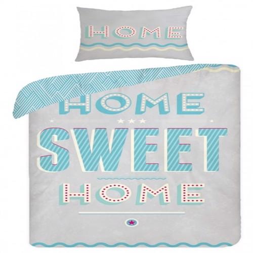 Image of Home Sweet Home 2I1 Design Sengetøj 100 Procent Bomuld