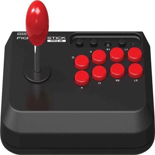 Image of   HORI Fighting Stick Mini for Playstation 4 Black - PS3