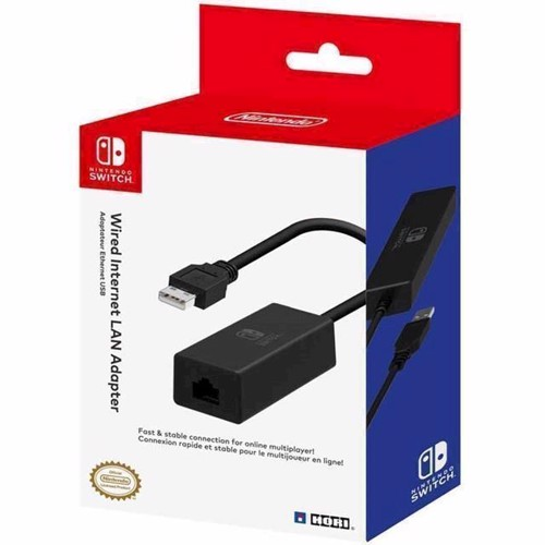 Image of   HORI Officially Licensed LAN Adaptor Switch