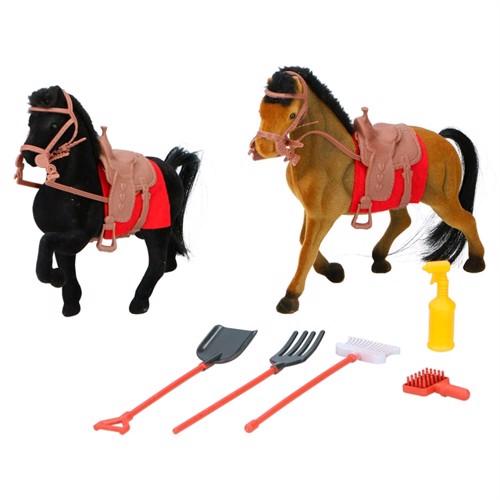 Image of Heste legesæt 7 dele