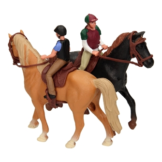 Image of Horse with Rider (8719987281051)