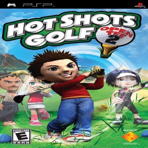 Image of Hot Shots Golf Open Tee 2 - PS Portable (0711719869320)