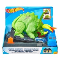 Hot Wheels City  Crushing Triceratops