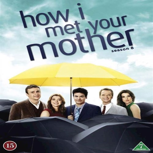 How I Met Your Mother Sæson 8 3disc  Dvd