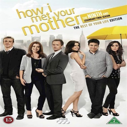 How I Met Your Mother Season 9  Final Sæson 3disc  Dvd