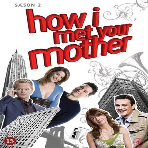 How I Met Your Mother Sæson 2 3disc  Dvd