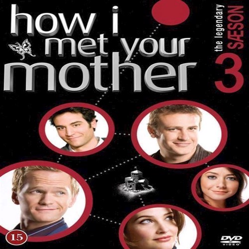 How I Met Your Mother Sæson 3 3disc  Dvd
