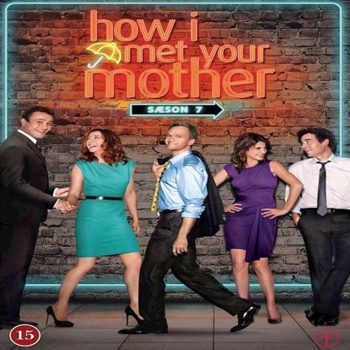How I Met Your Mother Sæson 7 3disc  Dvd