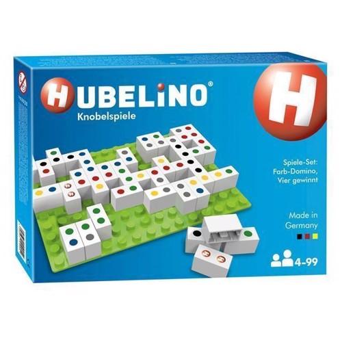 Image of Hubelino - Regnbue Domino Fire på Stribe