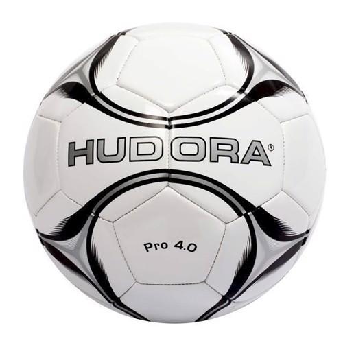 Image of Hudora - fodbold Pro 4.0 læder, str 4