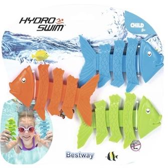 Image of Hydro-Swim DYKKERFISK Undervandslegetøj (3 stk)