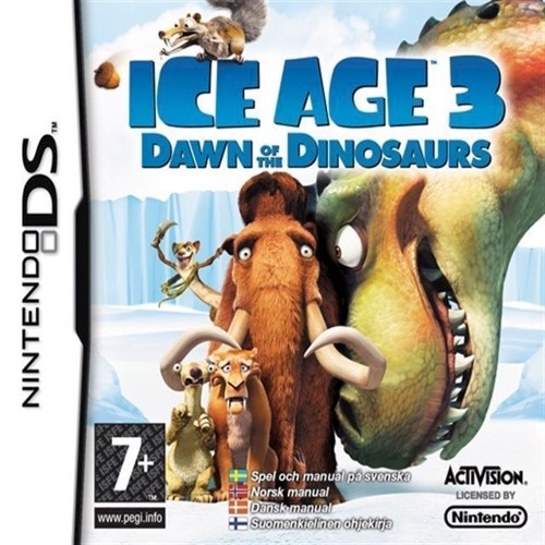 Image of Ice Age 3 Dawn Of The Dinosaurs - Nintendo Ds (5027669352276)