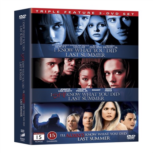 Image of I Know What You Did Last Summer 1-3 Boxset DVD (5051162273714)