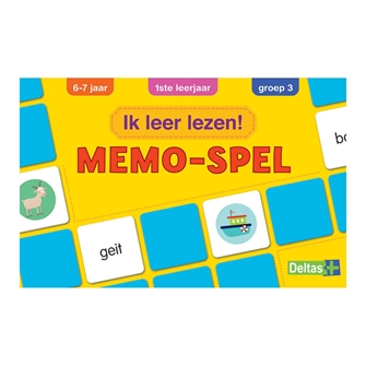 Image of   I learn to read! Memo game