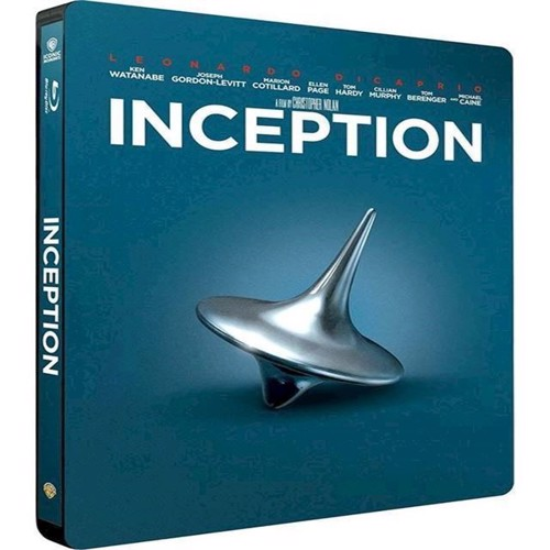 Image of Inception Limited Steelbook Blu-ray (7340112744182)