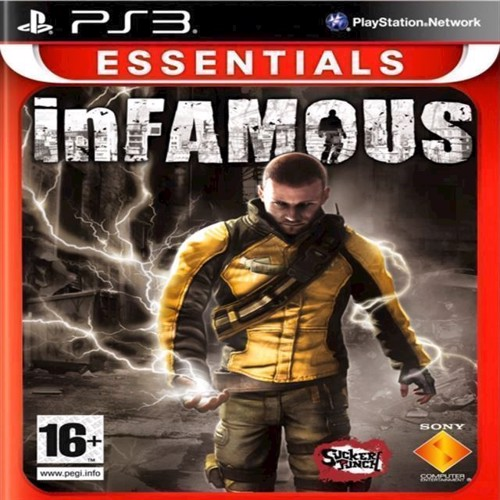 Image of Infamous Essentials Nordic - PS3 (0711719219941)