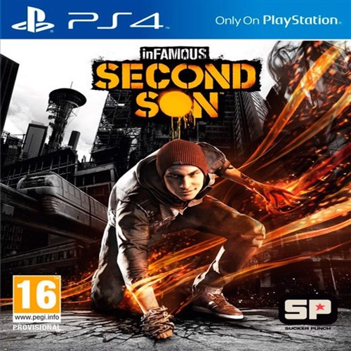 Image of inFAMOUS: Second Son (Nordic) - PS4 (0711719279075)