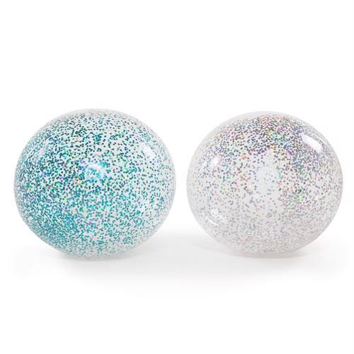 Image of Oppustelig, glitter boblebold, 85 cm