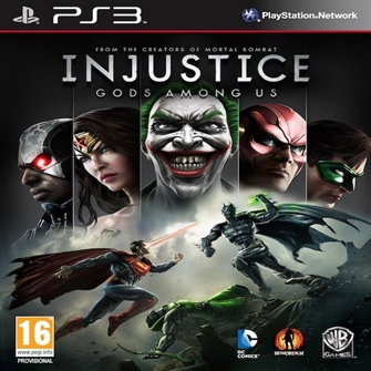Image of Injustice Gods Among Us - PS3 (5051895234259)