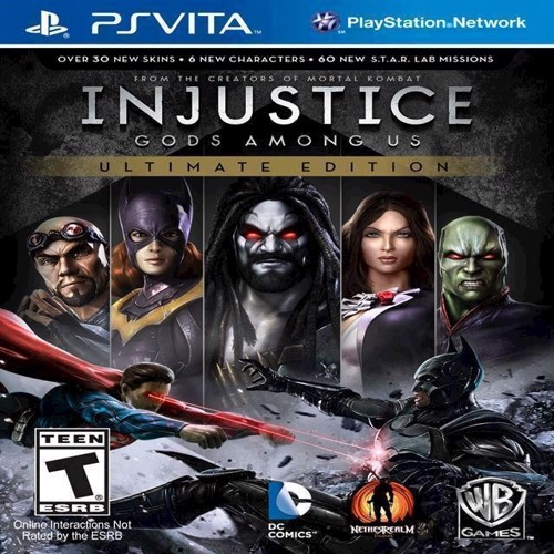 Image of Injustice Gods Among Us Ultimate Edition - PS3 (5051892150439)
