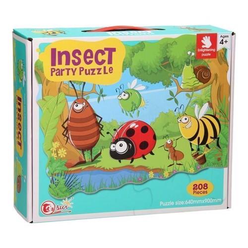 Image of Insekt Fest Puslespil, 208dele