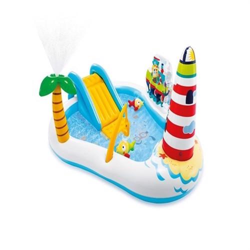 Image of INTEX - Fishing Fun Inflatable Play Center Pool (57162) (6941057413082)