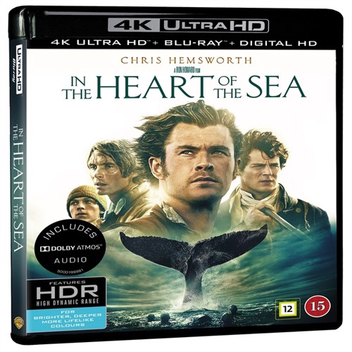 Image of In the heart of the sea (4K Blu-Ray) (5051895405215)