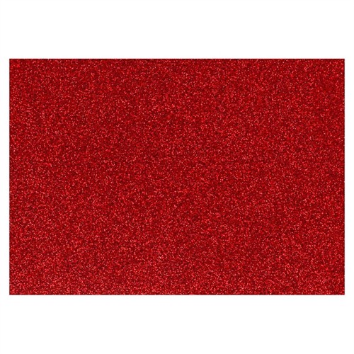 Image of Iron-on Foil Glitter Red, A5 (5712854313285)