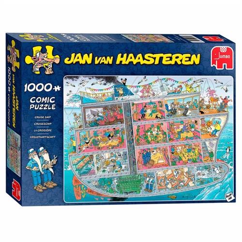 Image of Jan van Haasteren Puzzle - Cruise Ship, 1000st. (8710126200216)