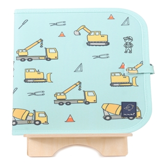 Image of Jaq Jaq Bird - Doodle It & Go Mat - Construction (J-CM-CONSTRUCTION-315) (0650726210315)