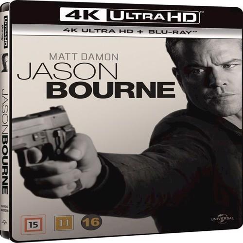Image of Jason Bourne 4K Blu-Ray (5053083092566)