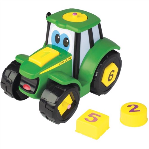 Image of John deere johnny traktor lær & leg