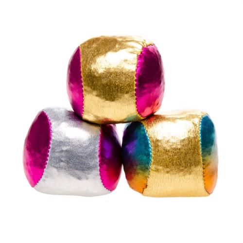 Image of Juggling balls Metallic, 3pcs. (5413247048899)