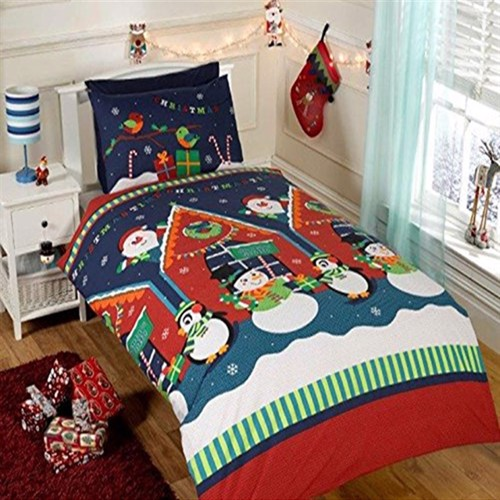 Image of Jule Sengetøj Julemandens Hule
