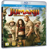 Jumanji welcome to the jungle 3d Blu-ray