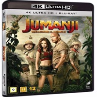 Jumanji Welcome to the Jungle 4K Blu-ray