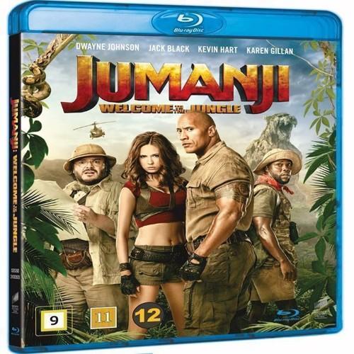 Image of Jumanji Welcome to the Jungle Blu-ray (7330031005051)