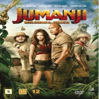 Jumanji Welcome to the Jungle  DVD