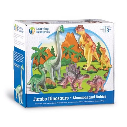 Image of Jumbo Dinosaur Mor Med Unger