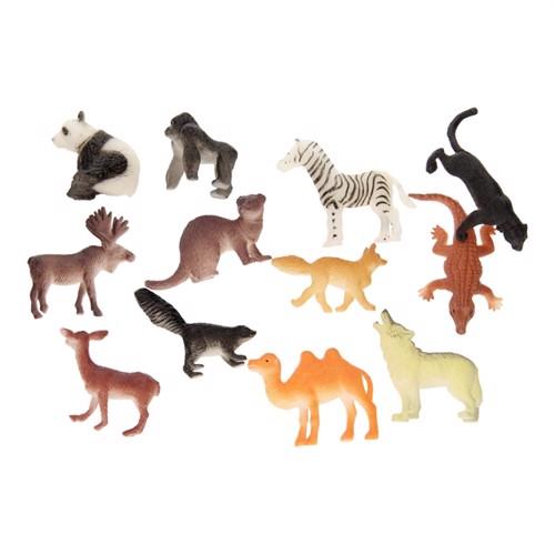 Image of   Jungle dyr 12 stk