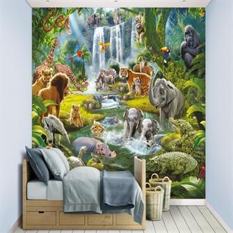 Image of Jungle Eventyr tapet 243 x 305 cm (5060107046481)