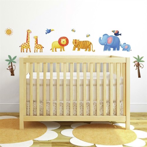 Image of Jungle Eventyr Wallstickers (034878106700)